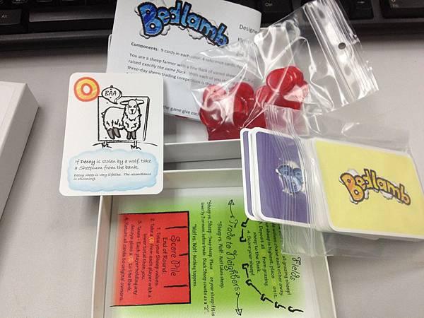 這一款Bedlamb就沒看過了,但我對Asmadi Games出版的有信心----鐵定是個蠢遊戲!哈哈!