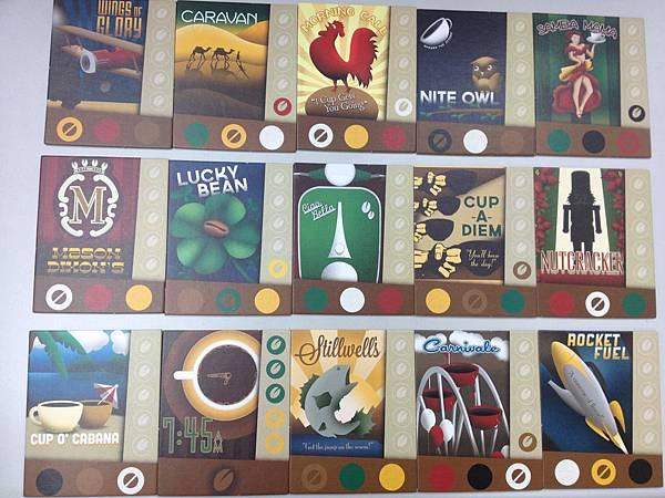隨手拿15塊板塊拍個照,展示一下這遊戲的美術實力,哈!