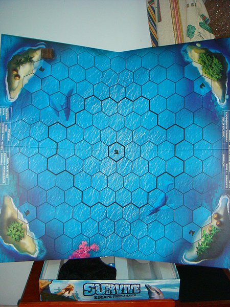 好大的海洋圖板啊!