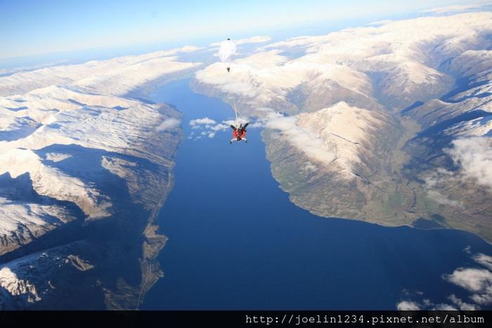 紐西蘭皇后鎮高空跳傘03