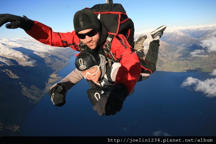 紐西蘭皇后鎮高空跳傘07