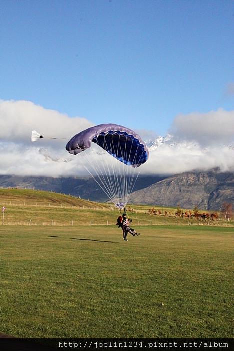 紐西蘭皇后鎮高空跳傘IMG_4024