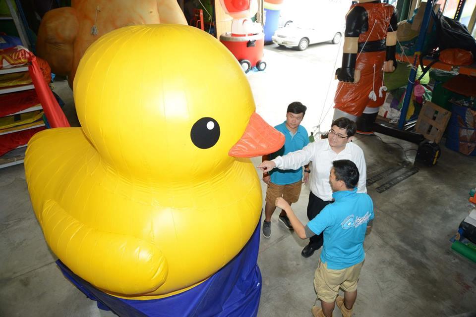 黃色小鴨製作過程