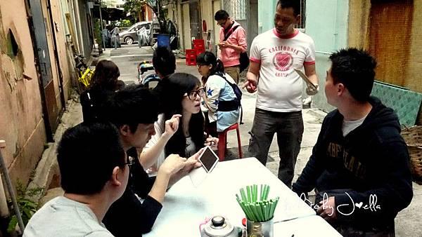 香港大坑炳記茶檔  (4)