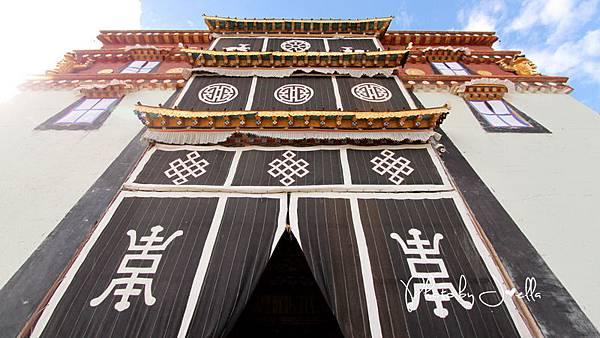 香格里拉2日遊_4葛松贊林寺 (10)