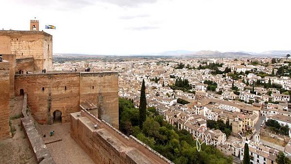 阿爾罕布拉宮阿卡薩巴碉堡(Alcazaba) (1)