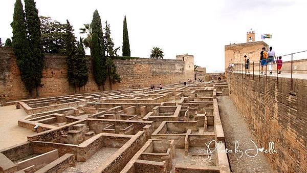 阿爾罕布拉宮阿卡薩巴碉堡(Alcazaba) (3)