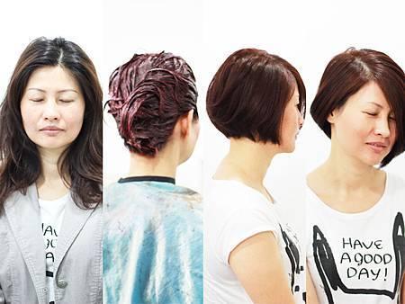 水樹髮藝JOE女生中長髮作品IMG_0208
