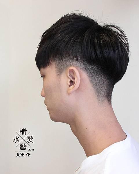 2015年推薦男生的髮型 「推剪+低層次+不分」高雄『水樹髮藝』設計師 JOE 關心你所在乎的『剪髮、燙髮、染髮』