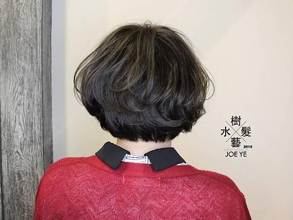 2016年推薦的女生髮型『短髮x空氣感』高雄『水樹髮藝』設計師 JOE 關心你所在乎的剪髮 燙髮 染髮