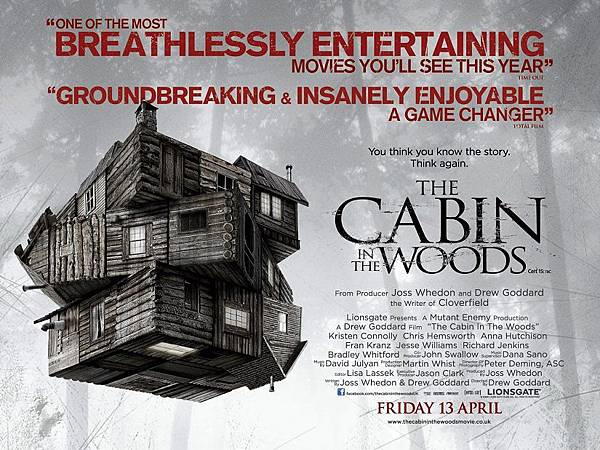 [恐佈電影]詭屋The Cabin in the Woods-poster