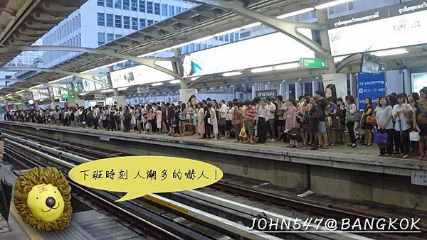 泰國曼谷 BTS高架捷運系統