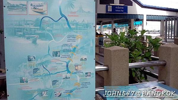 船運~昭披耶河遊船 CHAO PHRAYA EXPRESS BOAT3