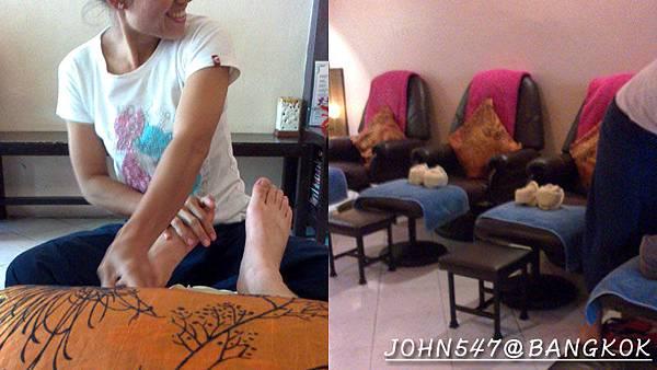 泰國曼谷按摩店] TakraiHom Massage 位於安努站的百元按摩街2