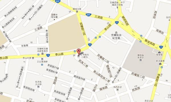 正常(正好)鮮肉小籠包~宜蘭店MAP