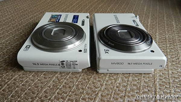samsung三星MV900f vs MV800相機比較 開箱實測4