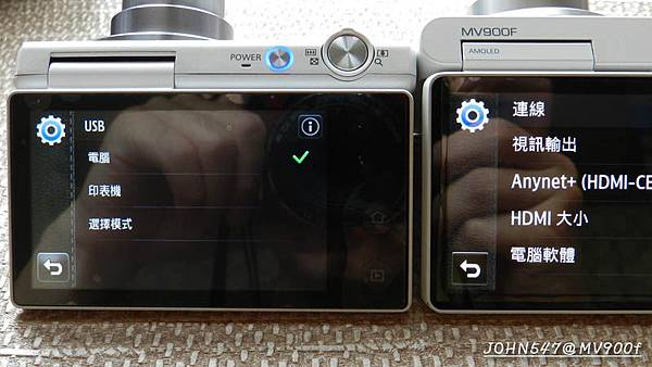samsung三星MV900f vs MV800相機比較 開箱實測a7