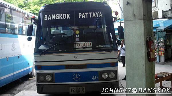 芭達雅玩水篇]曼谷搭巴士到Pattaya@EKKAMAI站-巴士東站5