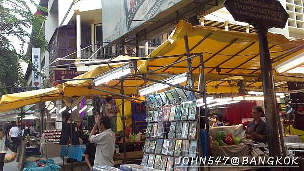 燈紅酒綠的帕澎夜市(Patpong night market 帕蓬夜市)@Sala Daeng2