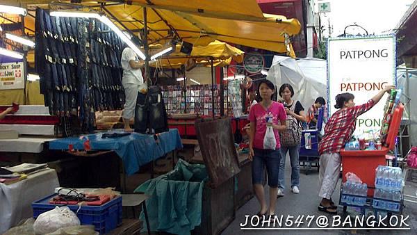 燈紅酒綠的帕澎夜市(Patpong night market 帕蓬夜市)@Sala Daeng4