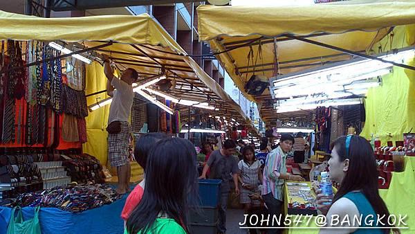 燈紅酒綠的帕澎夜市(Patpong night market 帕蓬夜市)@Sala Daeng3