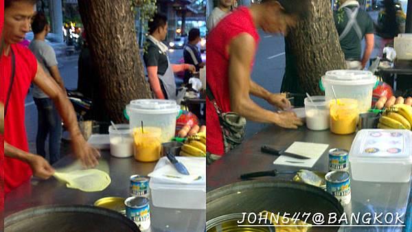 燈紅酒綠的帕澎夜市(Patpong night market 帕蓬夜市)@Sala Daeng 香蕉餅