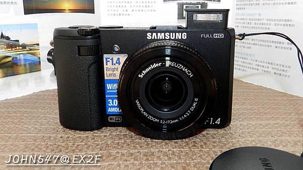 SAMSUNG EX2F~F1.4超大光圈,輕鬆夜拍,內建ND減光鏡7