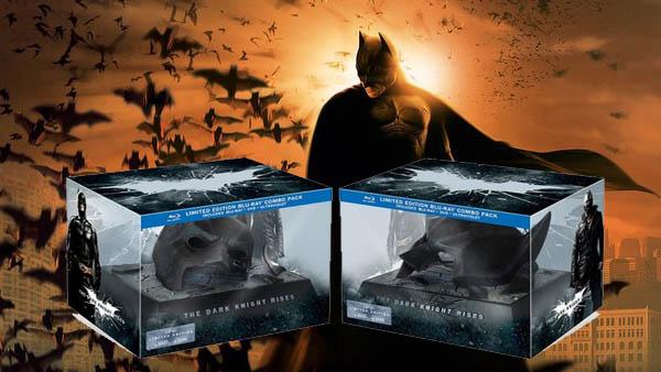 黑暗騎士:黎明昇起 限量禮盒版 (藍光BD)THE DARK KNIGHTS RISES 蝙蝠俠