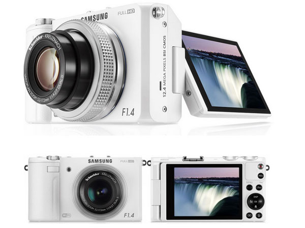 Samsung EX2F 大光圈F1.4「日光白」11月23日 新色登場 3