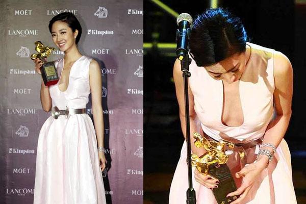金馬影后2012桂綸鎂奪下最佳女演員女主角
