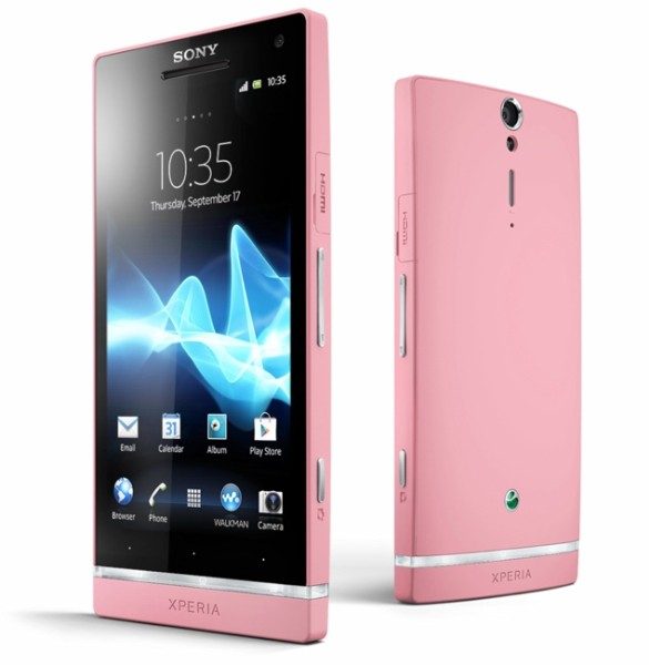 粉紅版 sony xperia SL PINK