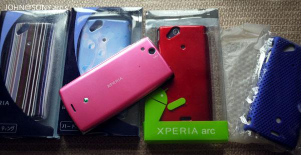 [粉紅色智慧手機]Sony Ericsson經典 ARC S PINK1
