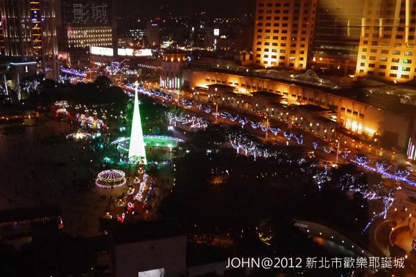 2012新北市歡樂耶誕城~市民廣場與板橋大遠百