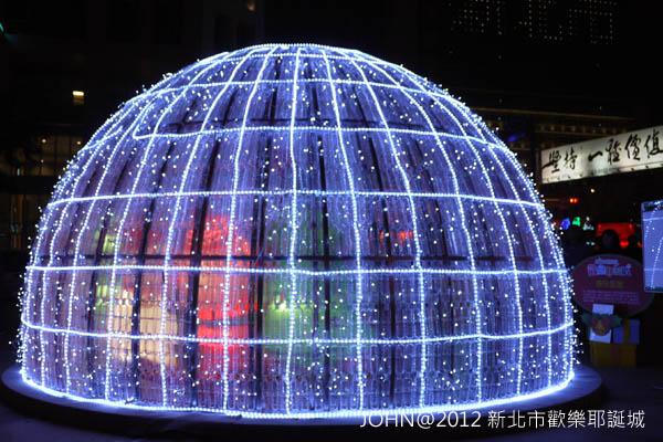 2012新北市歡樂耶誕城~市民廣場與板橋大遠百4