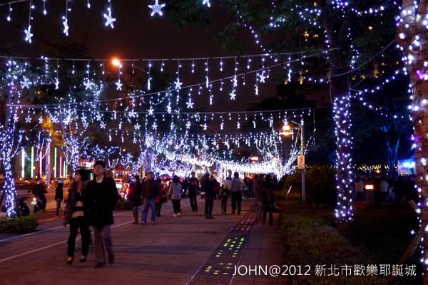 2012新北市歡樂耶誕城~市民廣場與板橋大遠百5