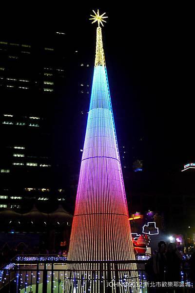 2012新北市歡樂耶誕城~市民廣場與板橋大遠百7