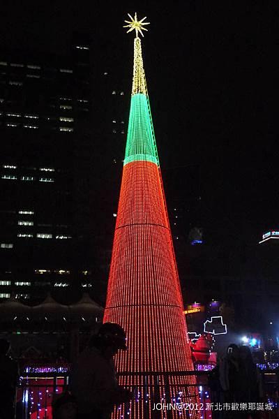 2012新北市歡樂耶誕城~市民廣場與板橋大遠百6