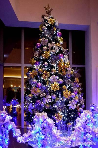 2012新北市歡樂耶誕城~市民廣場與板橋大遠百9