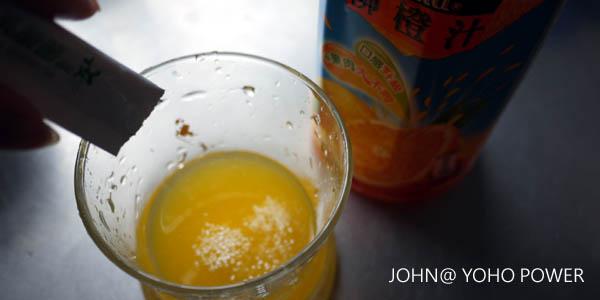 yoho power悠活原力養樂多益生菌 創意吃法 柳丁汁