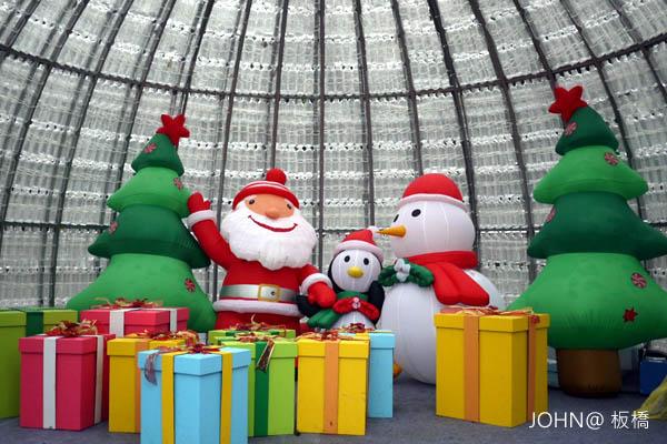 2012新北市歡樂耶誕城~市民廣場2
