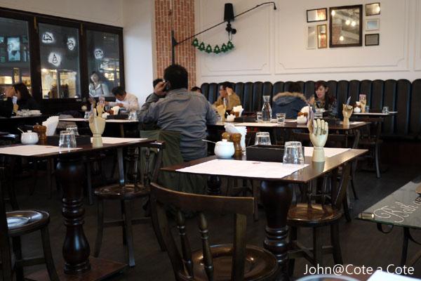 義大利餐廳]Cote a Cote 私.處~板橋火車站環球2樓7