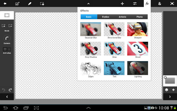 GALAXY NOTE10.1 內建了PS TOUCH