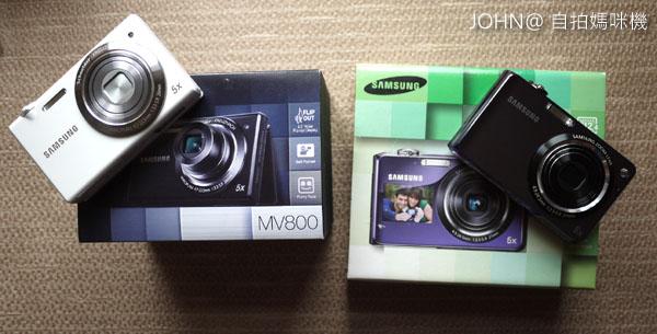 SAMSUNG MV800 PL150自拍相機
