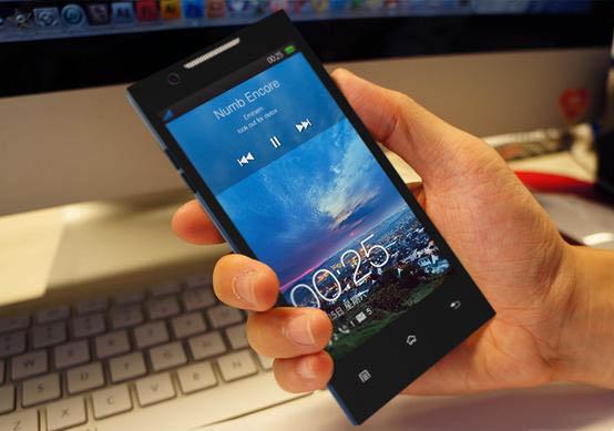 全球最薄 8.86mm 四核心智慧型手機 OPPO Find 5