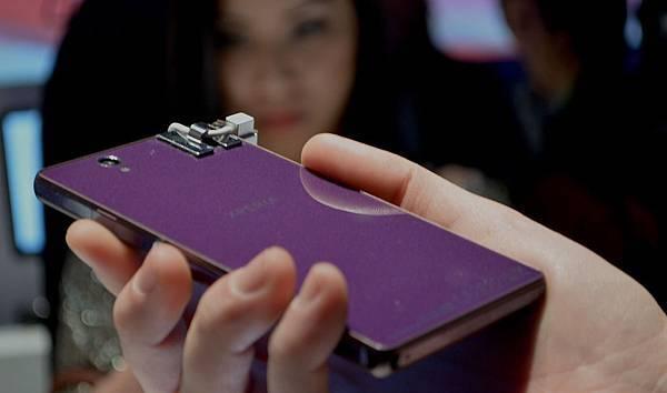 SONY Xperia Z  5吋四核心2013年旗艦手機  紫色