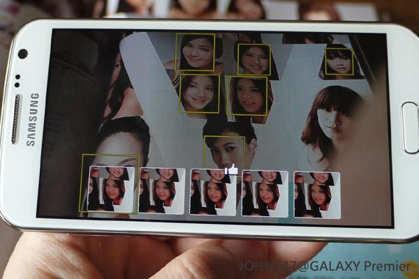 GALAXY Premier變臉機「Best Face最佳臉部表情」示範2