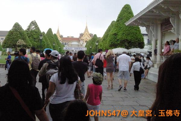 大皇宮(Grand Palace)和玉佛寺(Wat Phra Kaeo)泰國曼谷9