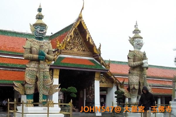 大皇宮(Grand Palace)和玉佛寺(Wat Phra Kaeo)泰國曼谷15