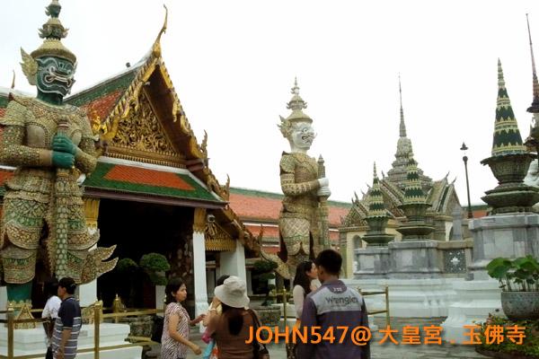 大皇宮(Grand Palace)和玉佛寺(Wat Phra Kaeo)泰國曼谷14