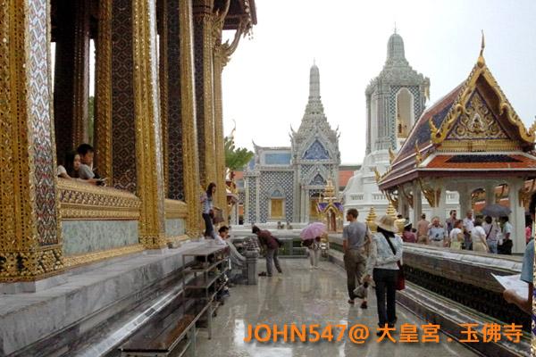 大皇宮(Grand Palace)和玉佛寺(Wat Phra Kaeo)泰國曼谷18